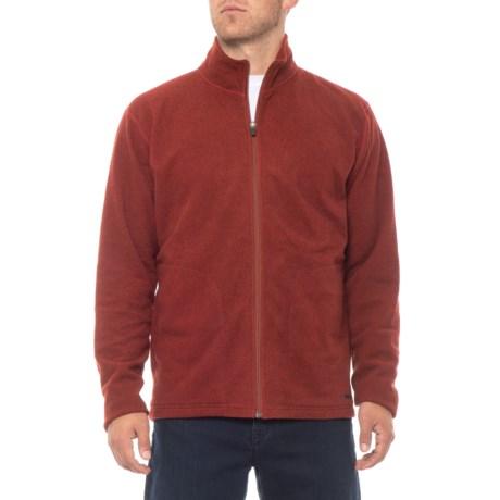 Image of Baja Fleece Jacket - Zip Neck, Long Sleeve (For Men)