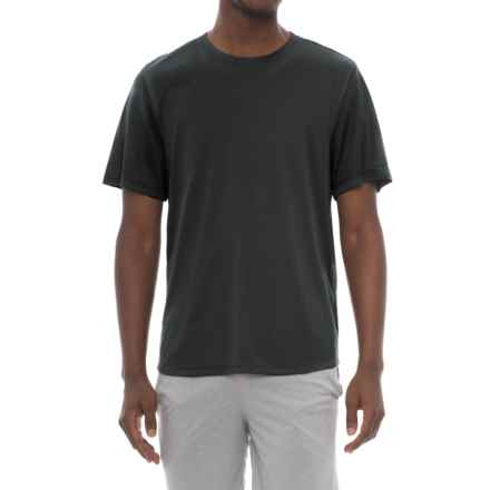Balance Collection Active T-Shirt - Short Sleeve (For Men) in Black Space Dye - Closeouts