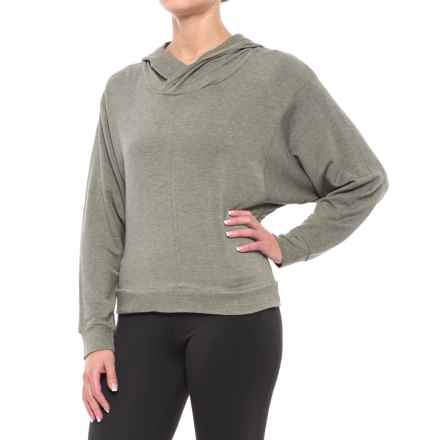 Balance Collection Amber Hoodie (For Women) in Heather Lichen - Closeouts