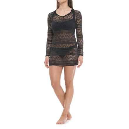 Balance Collection Angelica Cover-Up Dress - 3/4 Sleeve (For Women) in Black - Closeouts