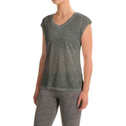 Balance Collection Aspire T-Shirt - Sleeveless (For Women) in Gunmetal - Closeouts