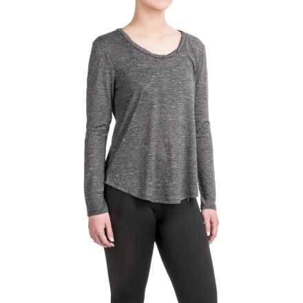 Balance Collection Audrey T-Shirt - Long Sleeve (For Women) in Black - Closeouts