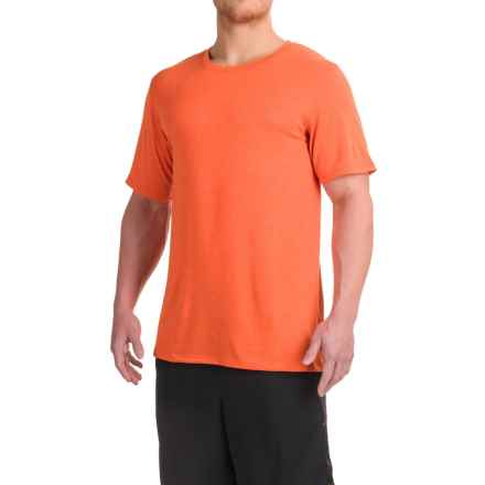 Balance Collection Back to Basics T-Shirt - Short Sleeve (For Men) in Heather Red Orange - Closeouts