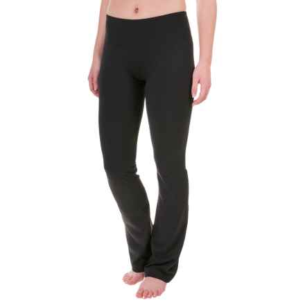 Balance Collection Barely Flare Pants (For Women) in Black - Closeouts
