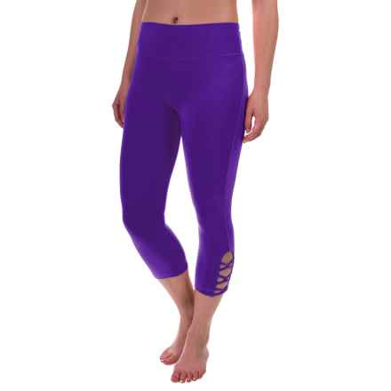 Balance Collection Beatrice Capris (For Women) in Berry Fit - Closeouts
