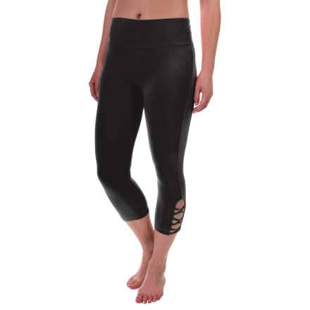 Balance Collection Beatrice Capris (For Women) in Black - Closeouts