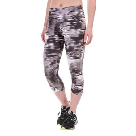 Balance Collection by Marika Printed SDW Capris (For Women) in In Motion Black - Closeouts