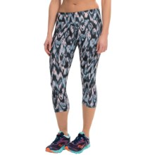 Balance Collection by Marika Printed SDW Capris (For Women) in Saturated Ikat - Closeouts