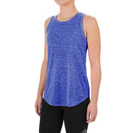 Balance Collection Canyon Singlet Shirt - Sleeveless (For Women) in Heathered Blue Bolt - Closeouts