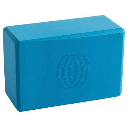 Balance Collection Deluxe Yoga Block in Diva Blue - Closeouts