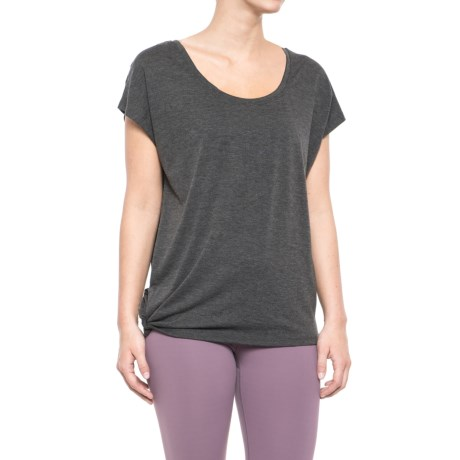 Balance Collection Dolman Side-Tie T-Shirt - Short Sleeve (For Women)