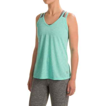 Balance Collection Double-V Tank Top (For Women) in High Tide - Closeouts