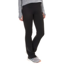 Balance Collection Flat-Waist Fleece Pants (For Women) in Black - Closeouts