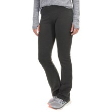 Balance Collection Flat-Waist Fleece Pants (For Women) in Heather Charcoal - Closeouts