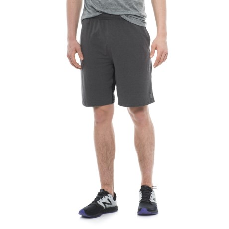 Balance Collection Gusseted Shorts (For Men) in Heather Charcoal
