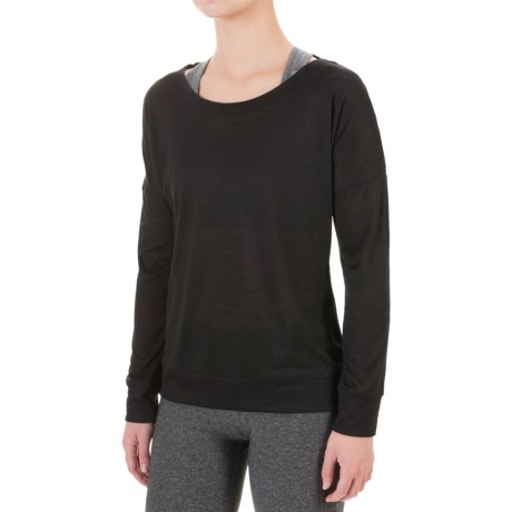 Balance Collection Impulse Shirt - Scoop Neck, Long Sleeve (For Women)