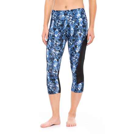 Balance Collection Jenna Printed Capri Leggings (For Women) in Starry Night - Closeouts