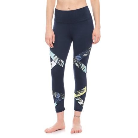 Balance Collection Lana Capri Leggings (For Women) in Peacoat/Starry Night