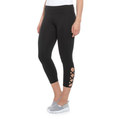 Balance Collection Lexi Capri Leggings (For Women) in Black