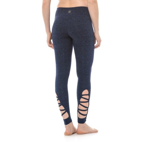 Balance Collection Mabel Strappy Leggings (For Women) in Cosmic Midnight