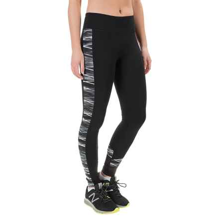 Balance Collection Momentum Watercolor Cloud Leggings (For Women) in Black/Grey - Closeouts