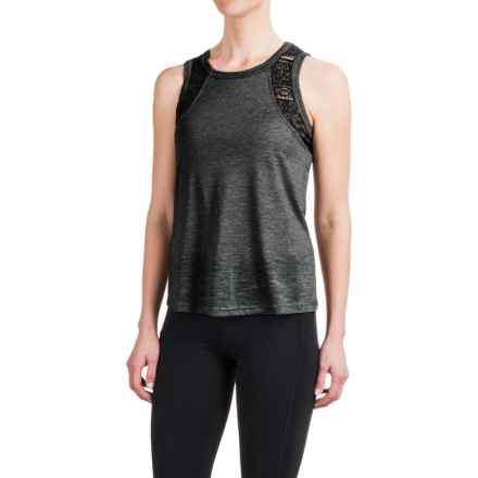 Balance Collection Moxie Singlet Shirt - Sleeveless (For Women) in Heather Black - Closeouts