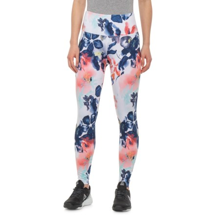 e14065c5b25310 Balance Collection Printed High-Waist Ankle Leggings (For Women) in Buff  Yellow Watercolor