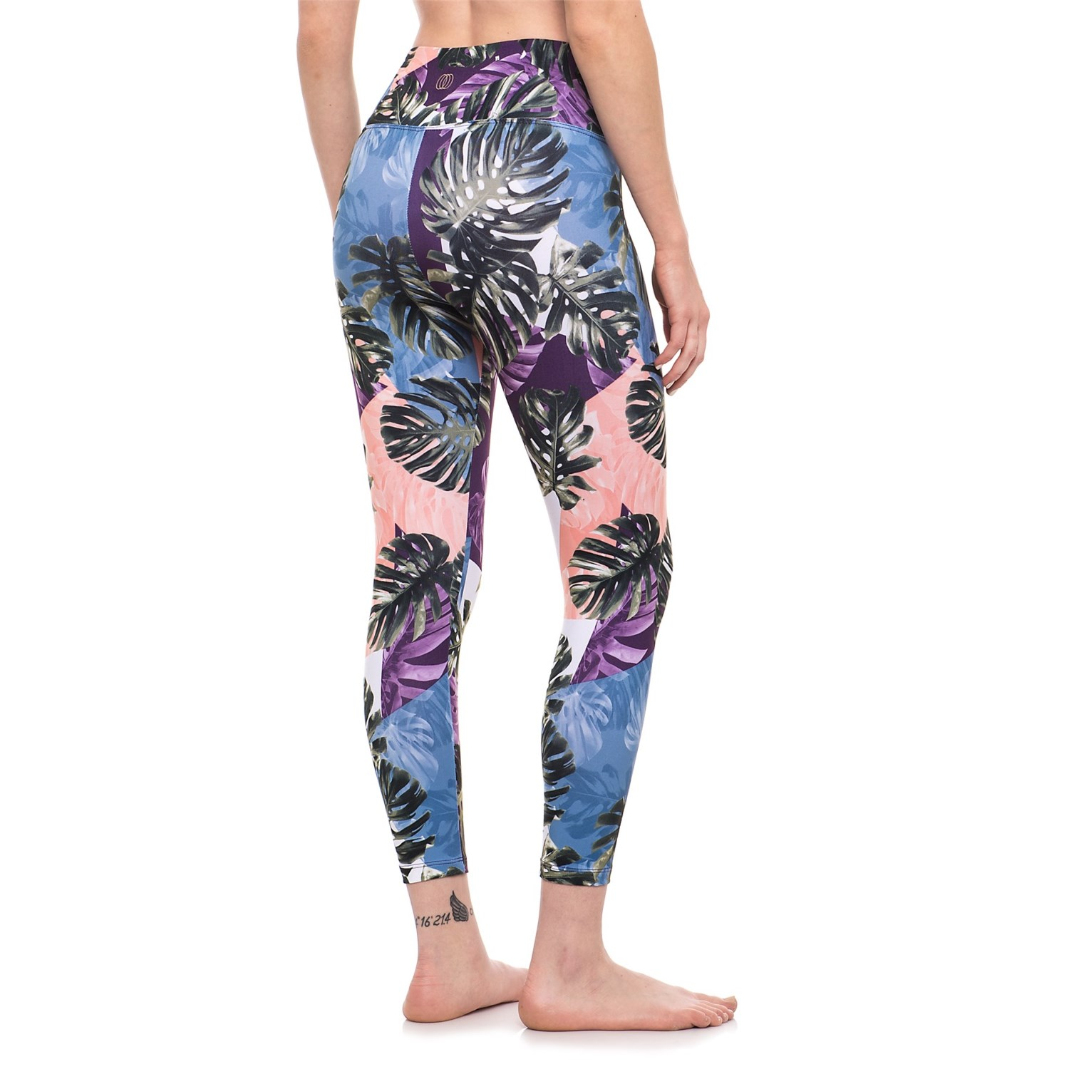 4297d7ef5efc2 Balance Collection Printed High-Waist Capri Leggings (For Women ...