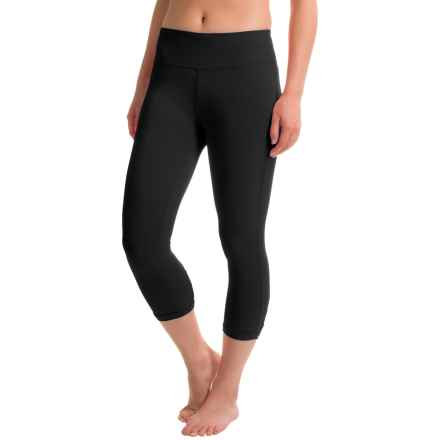 Balance Collection Releve Capri Leggings (For Women) in Black - Closeouts
