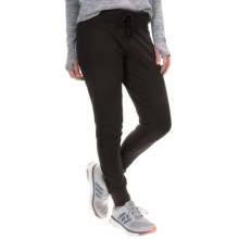 Balance Collection Reverse Fleece Joggers (For Women) in Black - Closeouts
