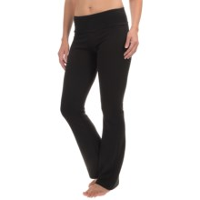 Balance Collection Reverse Fleece Pants (For Women) in Black - Closeouts
