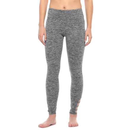 Balance Collection Scout Triple-Strap Leggings (For Women) in Heather Black - Closeouts