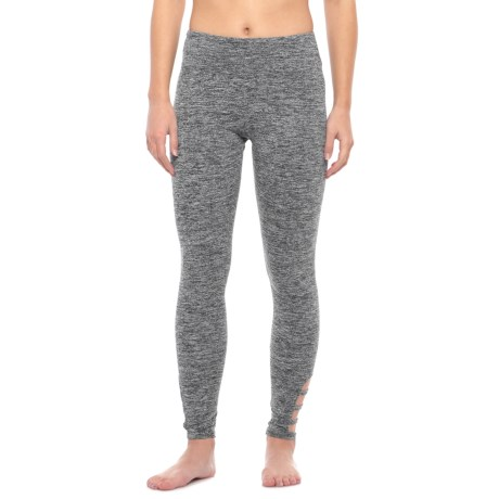 Balance Collection Scout Triple-Strap Leggings (For Women) in Heather Black