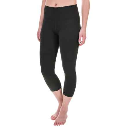Balance Collection SDW High-Waist Capris (For Women) in Black - Closeouts