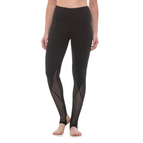 Balance Collection Sofia Stirrup Leggings - High Waist (For Women) in Black
