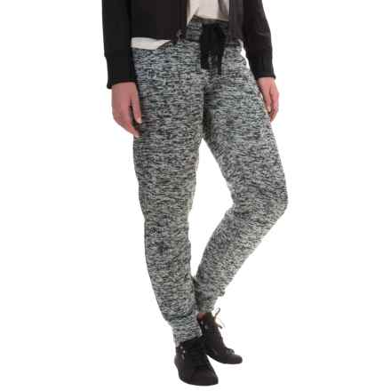 Balance Collection Speckle Joggers (For Women) in Grey Speckle - Closeouts