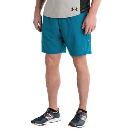 Balance Collection Stretch Woven Training Shorts (For Men) in Mystic Blue - Closeouts
