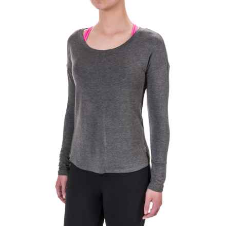 Balance Collection Studio Shirt - Long Sleeve (For Women) in Heather Charcoal - Closeouts