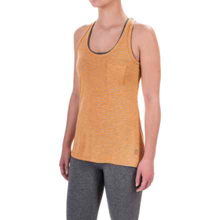 Balance Collection Tank Top - Racerback (For Women) in Orange Pop - Closeouts