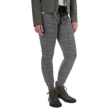 Balance Collection Variegated Joggers (For Women) in Variegated Black - Closeouts