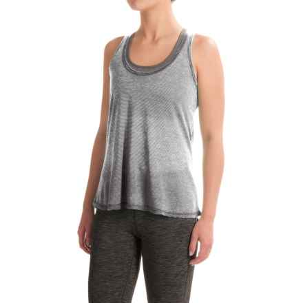 Balance Collection Vickey Stripe Singlet (For Women) in Black - Closeouts