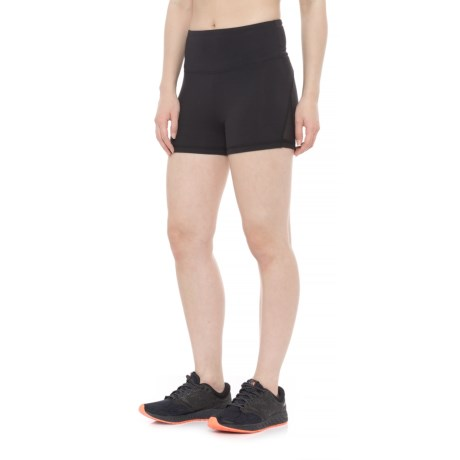 Balance Collection Wave Hottie Yoga Shorts (For Women) in Black