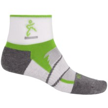 Balega Enduro 2 Running Socks - Ankle (For Men and Women) in Pistachio/Grey - Closeouts