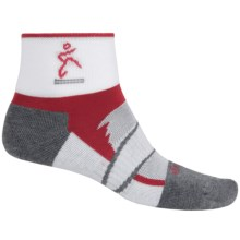 Balega Enduro 2 Running Socks - Ankle (For Men and Women) in Red/Grey - Closeouts