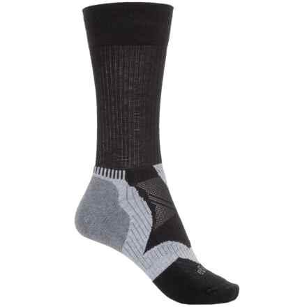 Balega Enduro 2 Running Socks - Crew (For Men and Women) in Black/Grey - Closeouts