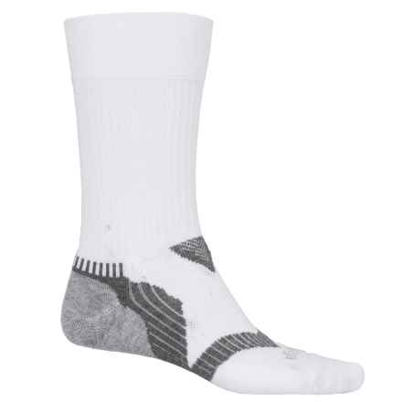 Balega Enduro 2 Running Socks - Crew (For Men and Women) in White/Grey - Closeouts