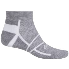 Balega Enduro 2 V-Tech Running Socks - Ankle (For Men and Women) in Grey - Closeouts