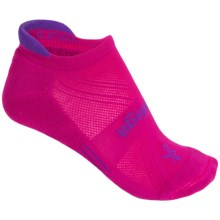 Balega Enduro 5 No-Show Running Socks - Below the Ankle (For Women) in Magenta Magic - Closeouts