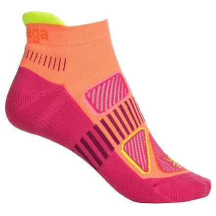 Balega Enduro 5 No-Show Running Socks - Below the Ankle (For Women) in Sherbert - Closeouts