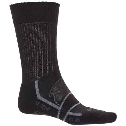 Balega Enduro Physical Training Socks - Crew (For Men and Women) in Black - Closeouts